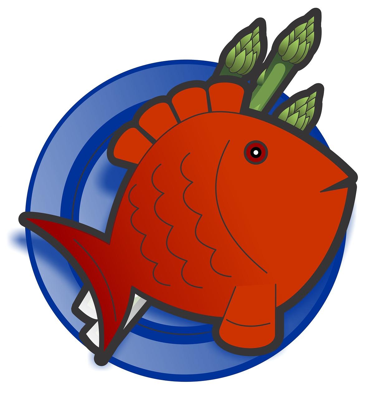 fish, food, dish