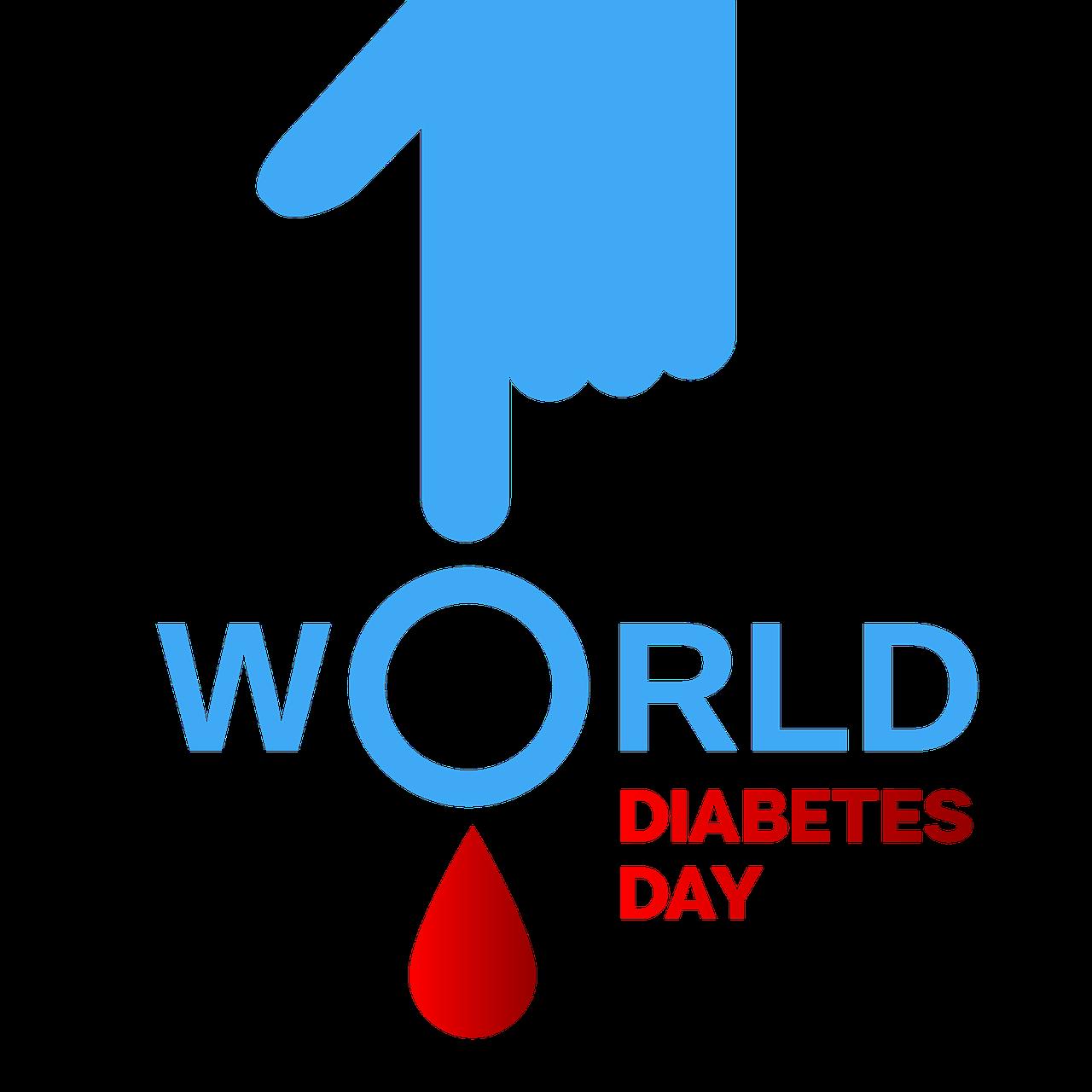 the world day of struggle against diabetes, 14 nov, symbol